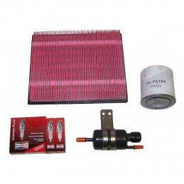 Kit entretien moteur Jeep Grand Cherokee WJ 4.0L 99-02 - Bougies, filtre à air, filtre à huile, filtre à carburant // TK35