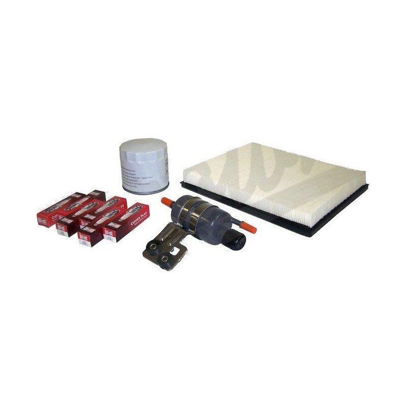 KIT entretien moteur Jeep Grand-cherokee WJ 4.0L 02-04 - Allumage, bougies, filtre air, filtre huile, filtre essence // TK48