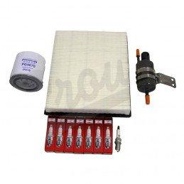 Kit entretien moteur Jeep Grand Cherokee WJ 4.7L 99-04 - Bougies, filtre à air, filtre à huile, filtre à carburant // TK36