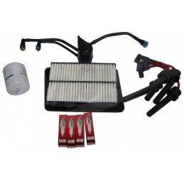 Kit entretien moteur Jeep Cherokee Liberty KJ 2.4L 02-03 - Bougies, filtre à air, filtre à huile, filtre à carburant // TK39