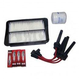 Kit entretien moteur Jeep Cherokee KJ 2.4L 04-05 - Allumage, câbles, bougies, filtre air, filtre huile// TK40