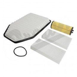 Kit 3x Filtres - Jeep Wrangler JK 3.6L Essence 2012-2013 - filtre à air, filtre huile, filtre d'habitacle // MFK23