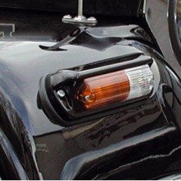 Clignotant / veilleuse Jeep Wrangler YJ & CJ | aile, Aluminium