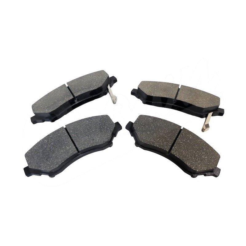 Plaquettes (x4) frein avant semi-métalliques -Jeep Wrangler JK 2007-2018 / Cherokee KK 2008-2012 // 68003701AA
