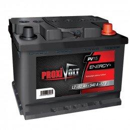 Batterie PROXIVOLT 12V - 62Ah - Jeep Wrangler YJ, CJ / Cherokee XJ / Grand Cherokee ZJ - avant 1996 // D43