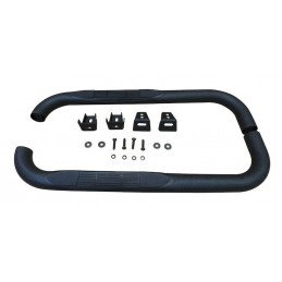 Protections de bas de caisse pour Jeep Wrangler YJ et Wrangler TJ , noir texturé