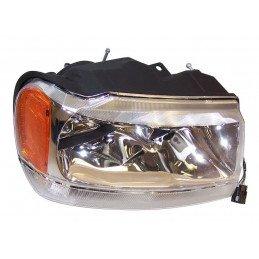 Optique de phare droit - Limited - avec réglage - Jeep Grand-Cherokee WJ 1999-2004 // 55155552AD
