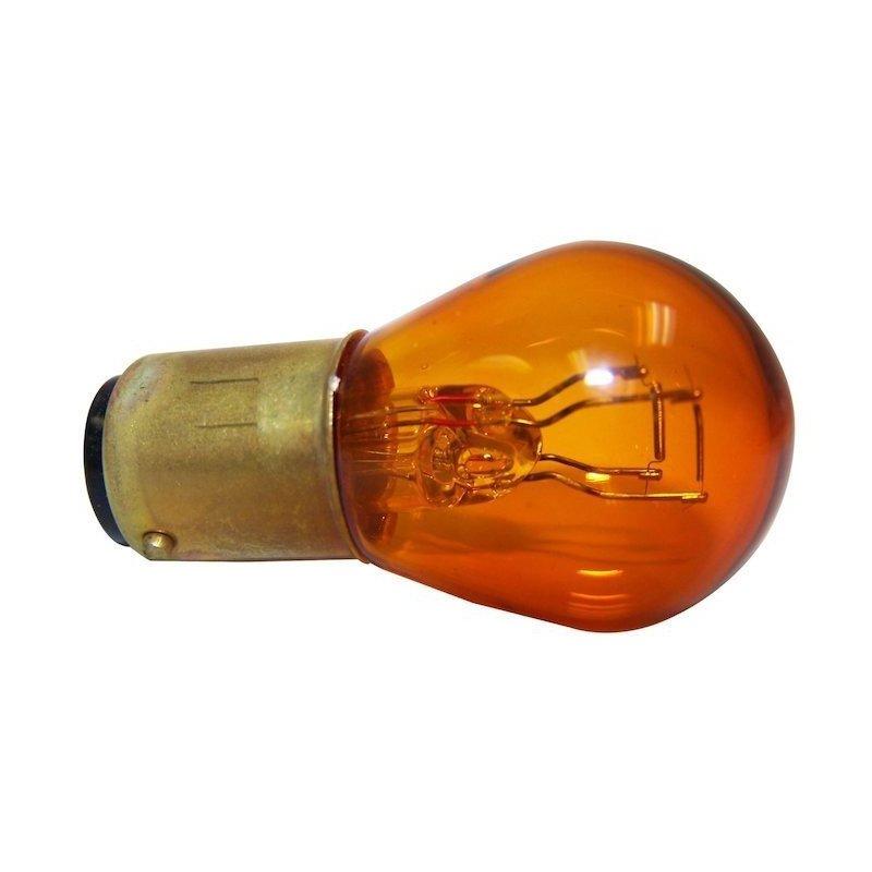 Ampoule Orange 1157NA 12 Volts 27/7W, pour clignotants avant et arrière - Jeep Wrangler et Cherokee avant 1997 // 1157NA