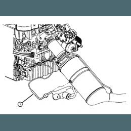 Sonde de température du Filtre à particules - Jeep Wrangler JK 2008 / Grand Cherokee 2007-2009 // 05149540AB