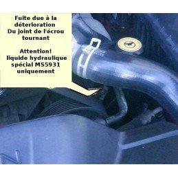 Raccord tournant de sortie pompe direction assistée ventilateur hydraulique Jeep Grand Cherokee WJ 2002-2004 2.7LCRD /52088914AA