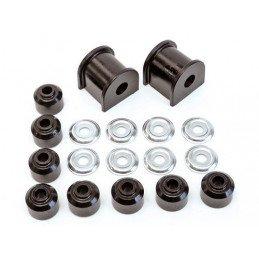 Kit silent-blocs barre stabilisatrice/antiroulis arrière en polyuréthane noir renforcé Jeep Grand-cherokee ZJ 93-98 // KJ05009BK
