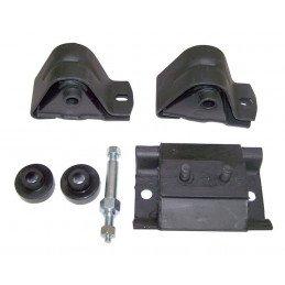 Kit Silent-Blocs moteur & boite - Jeep Wrangler YJ 1987-1990 2.5L // 52000074K