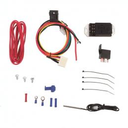 Règulateur/Contrôleur de Ventilateur électrique Réglable de 66°C à 116°C Mishimoto - avec sonde de radiateur pour Jeep