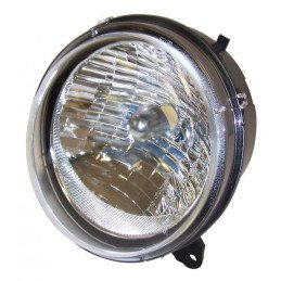 Optique de phare Avant Gauche, sans veilleuse - Norme USA, Canada - Jeep Cherokee Liberty KJ 2005-2007 // 55157141AA