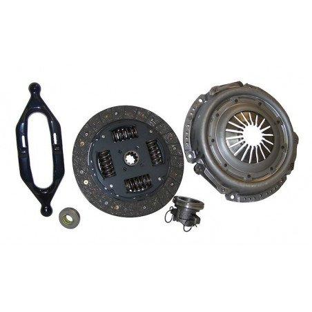 Kit embrayage plateau + disque + butée + fourchette + pilote - Jeep Cherokee XJ / Wrangler TJ 4.0L 2000-06