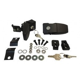Kit antivol serrure - attaches capot - Jeep Wrangler JK 2007-2018 // RT26057