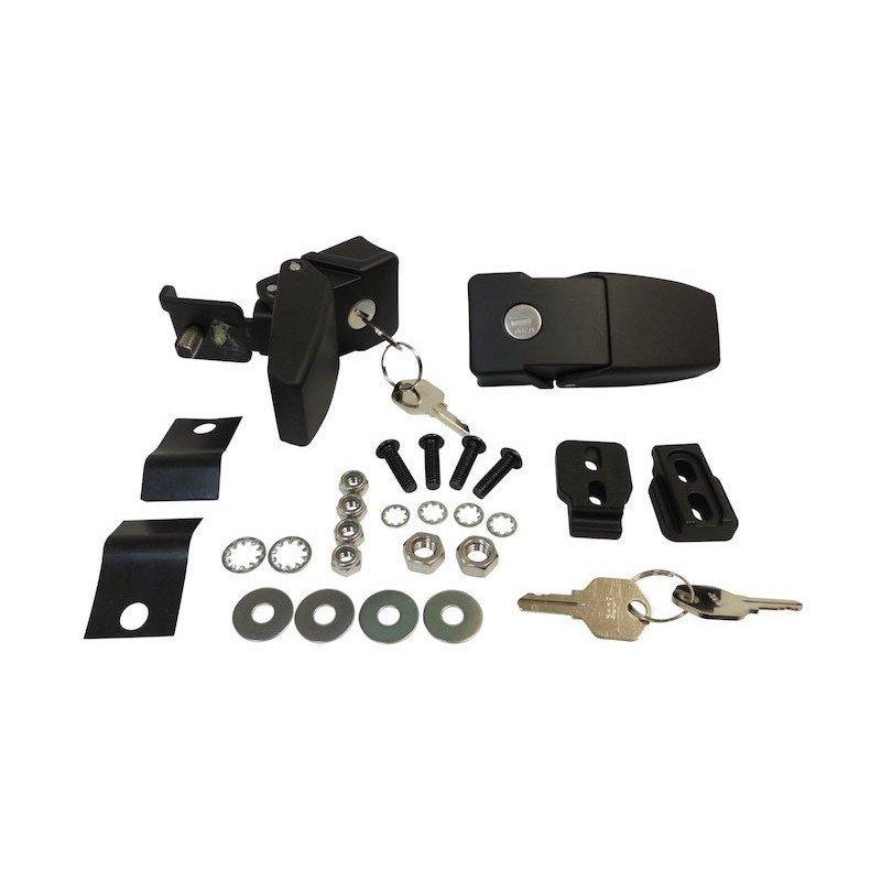 Kit antivol serrure - attaches capot - Jeep Wrangler JK 2007-2018 // RT26057