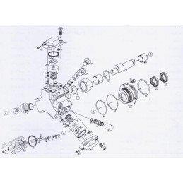 Pochette de joints pour rénovation Pompe haute pression - Jeep Grand-Cherokee WJ 2.7L CRD 2002-2004 // KITJOINTHP