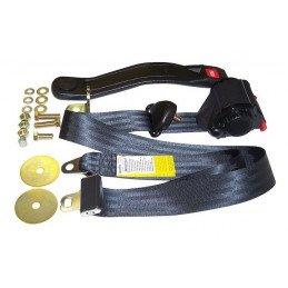 kit ceinture de s curit avant droite ou gauche 3 points avec enrouleur jeep wrangler yj cj. Black Bedroom Furniture Sets. Home Design Ideas