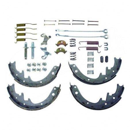Kit Freins Arrière 10 pouces - Mâchoires + vis rattrapage + accessoires - Jeep Wrangler YJ & CJ 78-89 / Cherokee XJ 84-89