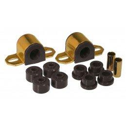 Kit silent-blocs barre stabilisatrice/antiroulis Avant - 25mm - polyuréthane renforcé - Jeep Cherokee XJ 84-01 // KJ05006BK