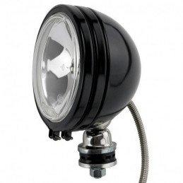Phare Off-Road longue portée rond - NOIR - 6 pouces, 100W avec cache et ampoule // JF615-NOIR