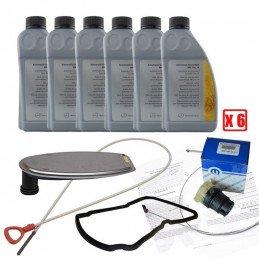 Pack vidange boite auto NAG1 Jeep Grand-Cherokee WJ 2.7L CRD 01-04 / 6L huile 236.14 + jauge + filtre + joints + prise + doc