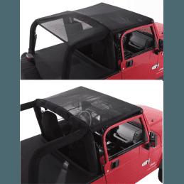 Bikini Safari Jeep Wrangler YJ de 1992 à 1995 , filet