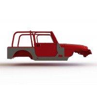 ▷ Pièces détachées de Carrosserie pour Jeep Wrangler TJ 1997-2006