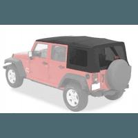Bâches, Bikinis, demi-portes Jeep Wrangler JK