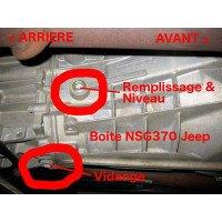 Boite Manu 6 vitesses Jeep Cherokee KJ