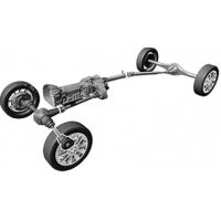 Carrosserie arriere Jeep Cherokee KK